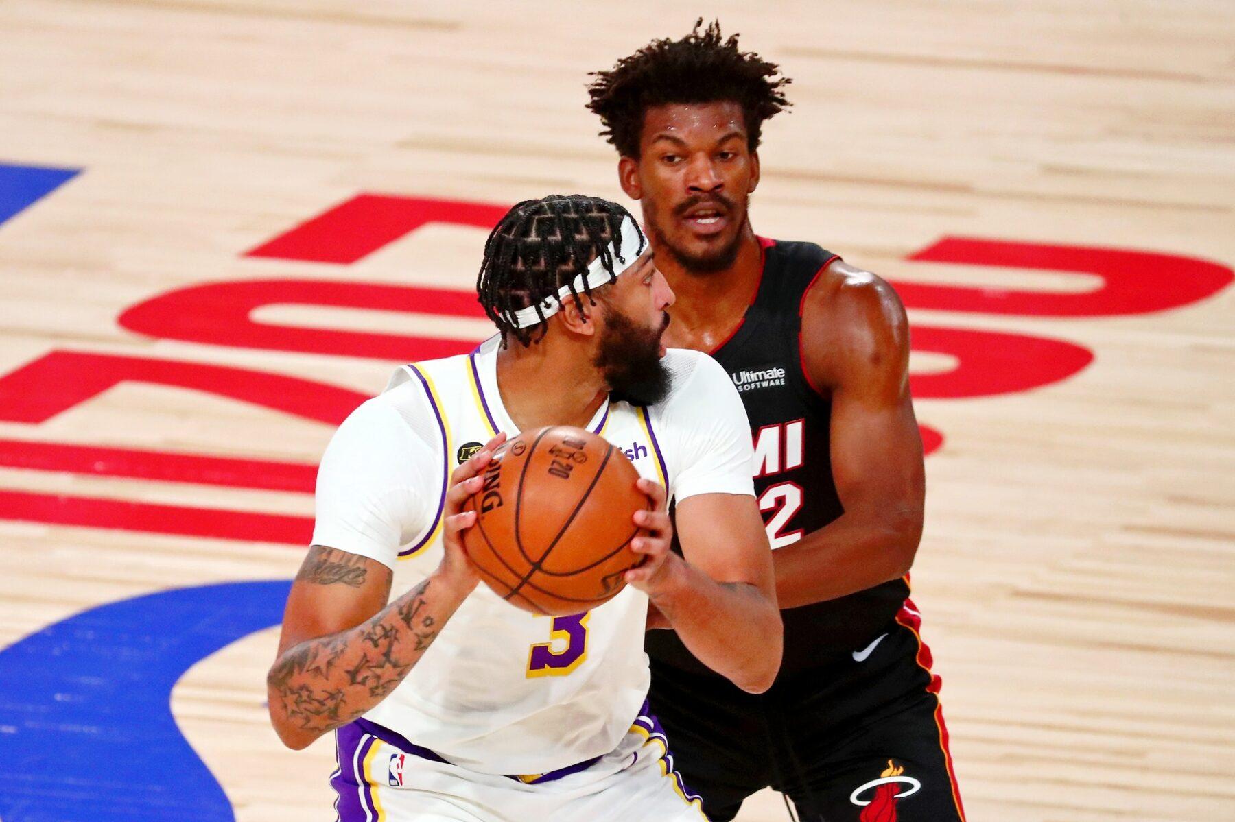 Anthony Davis Lakers Miami Heat