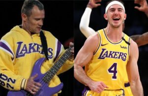 Flea and Alex Caruso