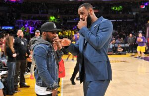 Rich Paul and LeBron James