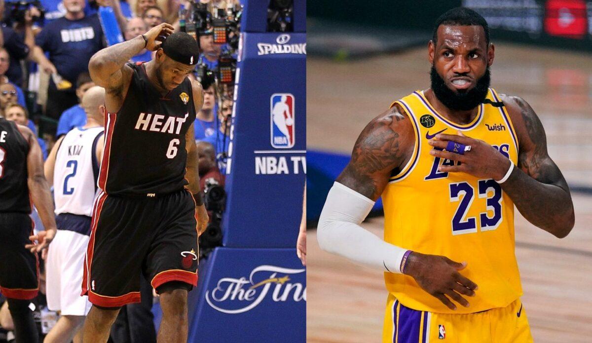 2020 LeBron James vs. 2011
