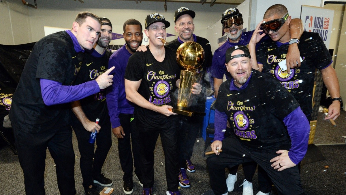 Mike Penberthy Los Angeles Lakers
