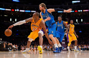 Kobe Bryant and Dirk Nowitzki