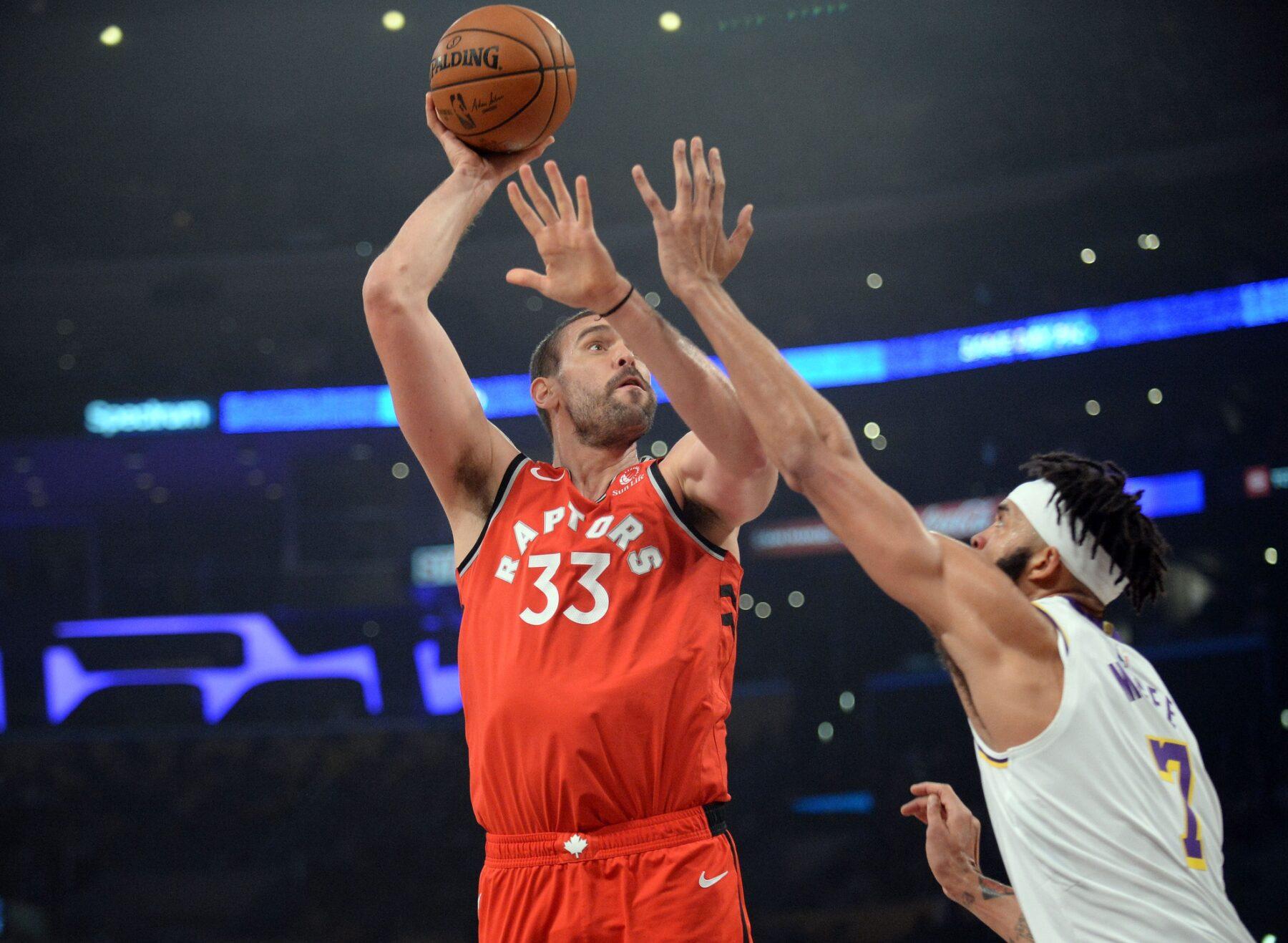 Marc Gasol Toronto Raptors