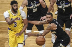 George Hill and Anthony Davis