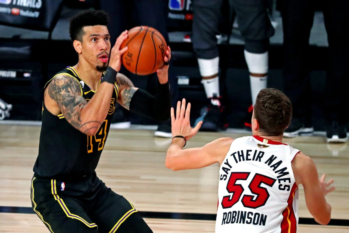 Danny Green and Duncan Robinson