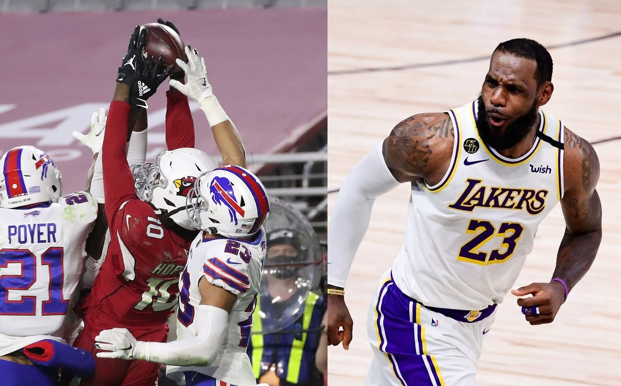 DeAndre Hopkins and LeBron James