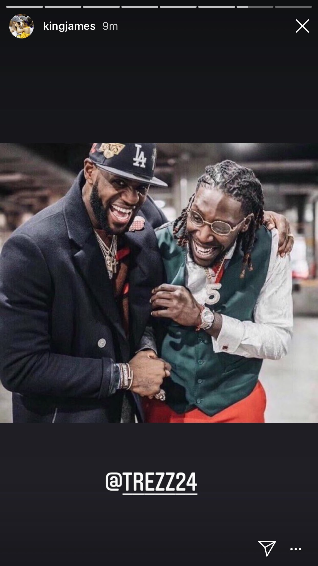LeBron James and Montrezl Harrell