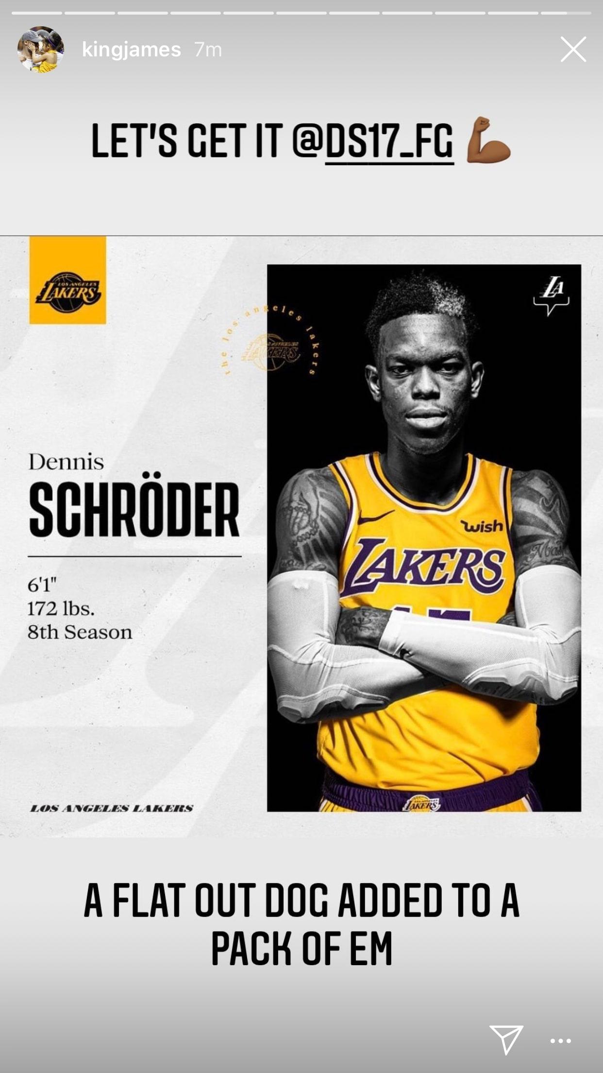 Dennis Schroder Lakers
