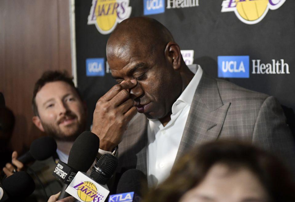 Magic Johnson Lakers