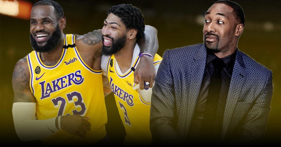 Gilbert Arenas Lakers