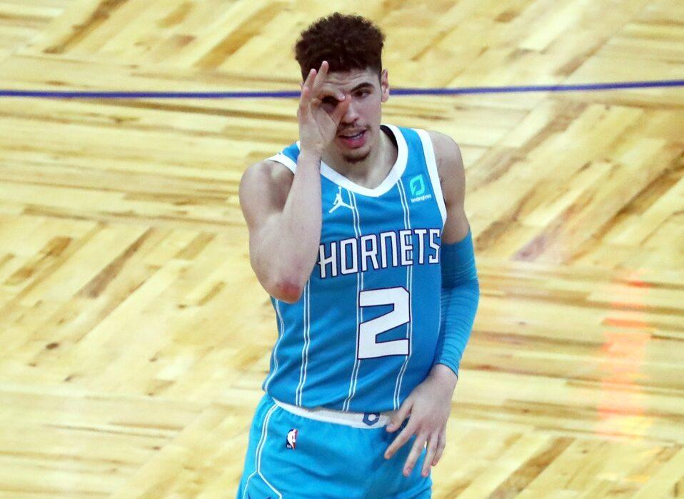 LaMelo Ball Charlotte Hornets