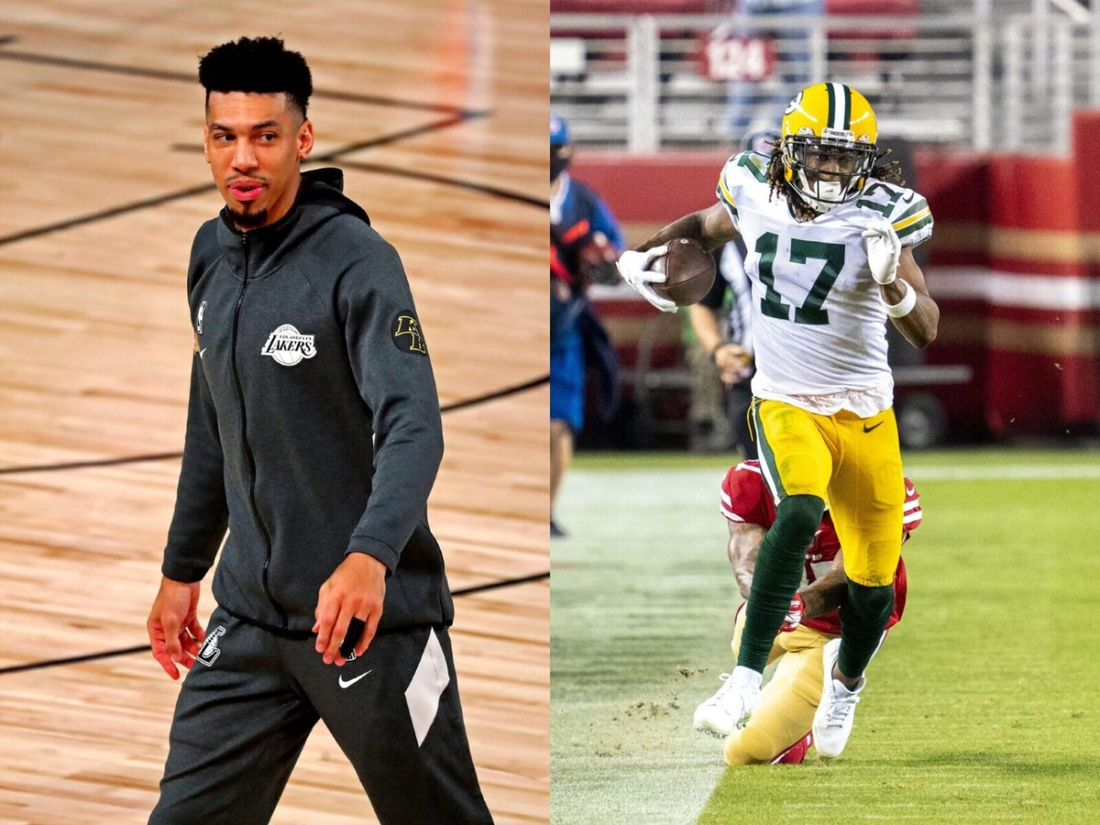 Davante Adams and Danny Green