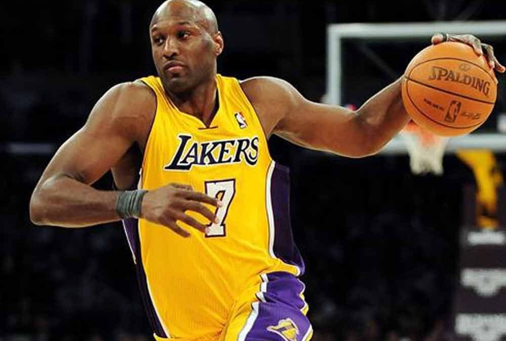 Lamar Odom Lakers