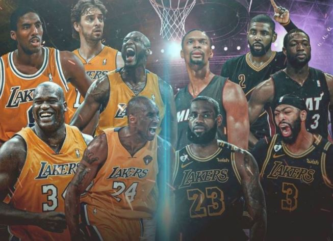 All-time LeBron James team vs. All-time Kobe Bryant team
