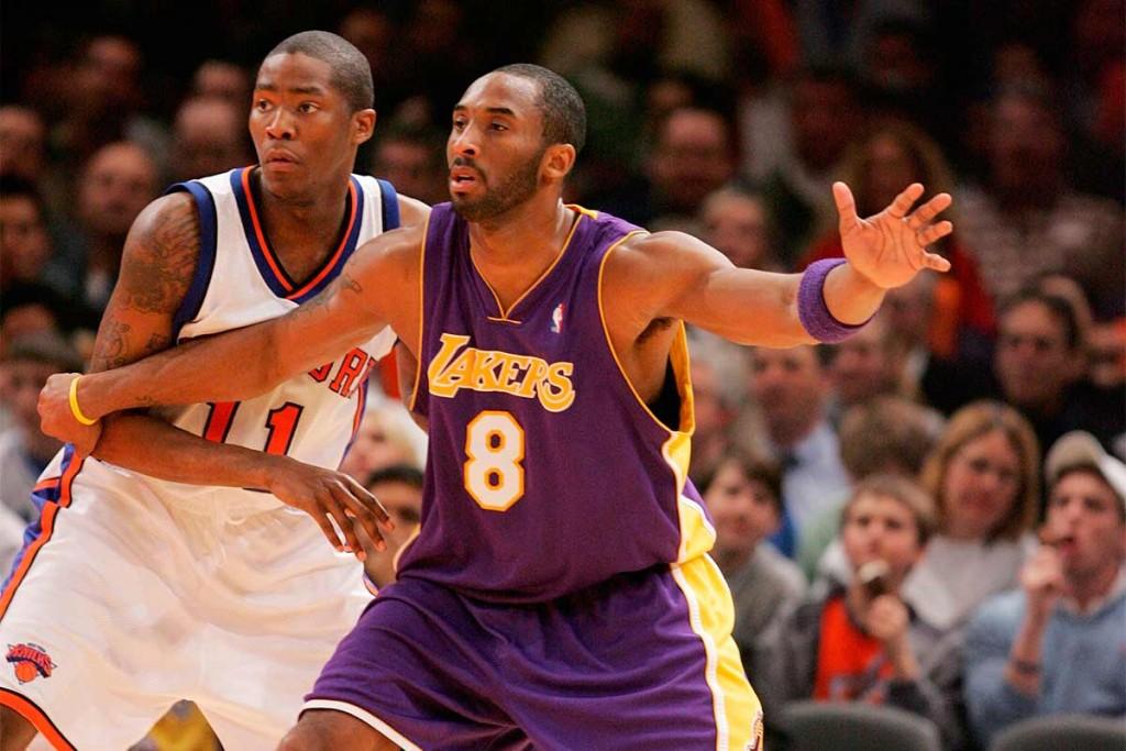 Jamal Crawford and Kobe Bryant