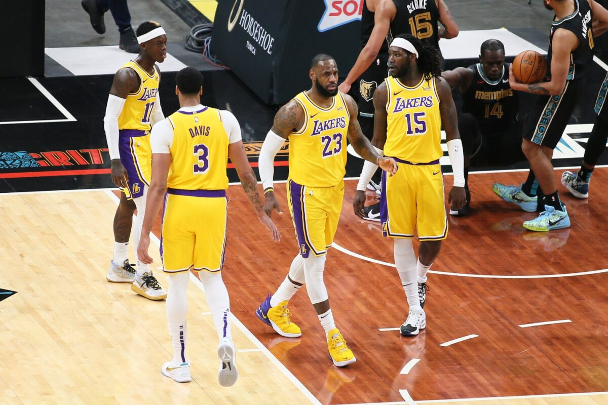 Report: Lakers list 3 starters as questionable for Friday's contest vs.  Bulls - Lakers Daily