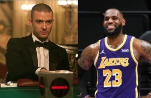 Justin Timberlake and LeBron James