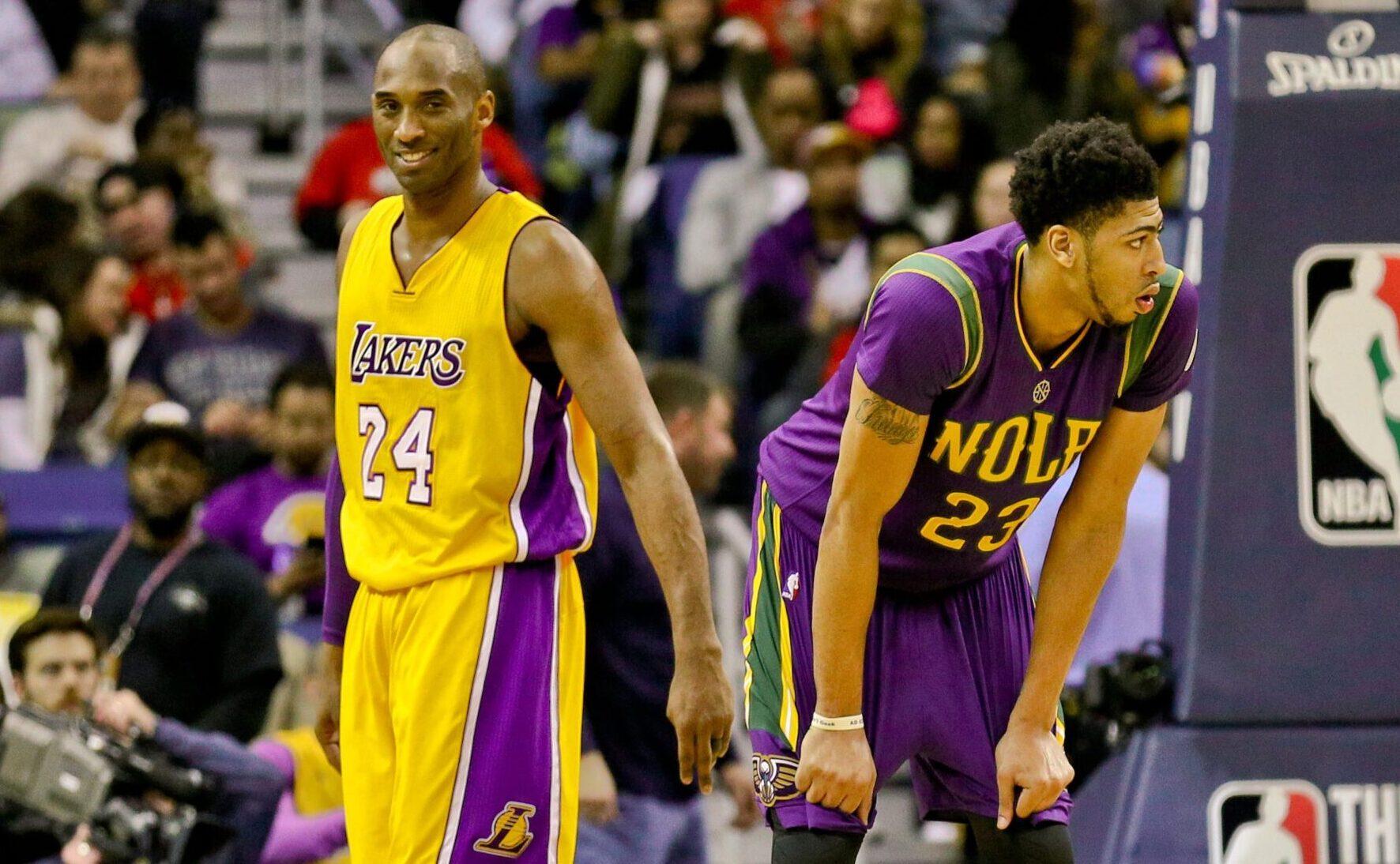 Kobe Bryant and Anthony Davis
