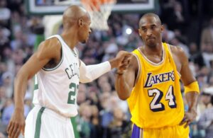 Ray Allen and Kobe Bryant