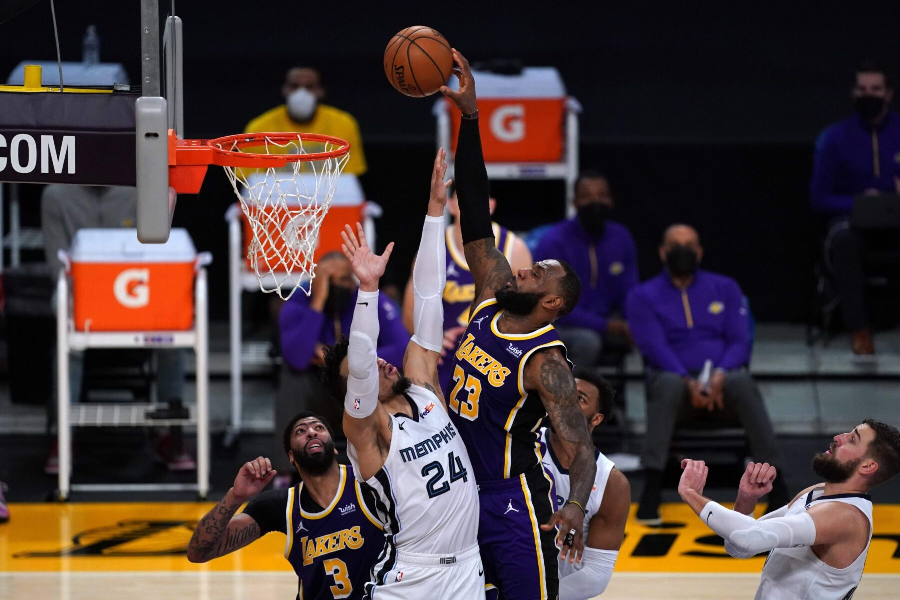 LeBron James Lakerss