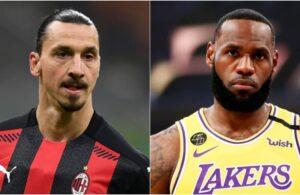 LeBron James and Zlatan Ibrahimovic