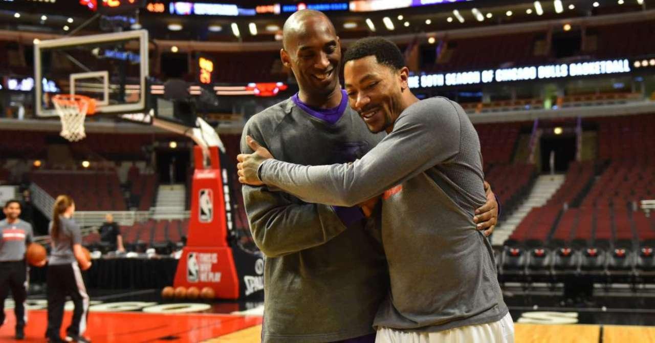 Kobe Bryant and Derrick Rose