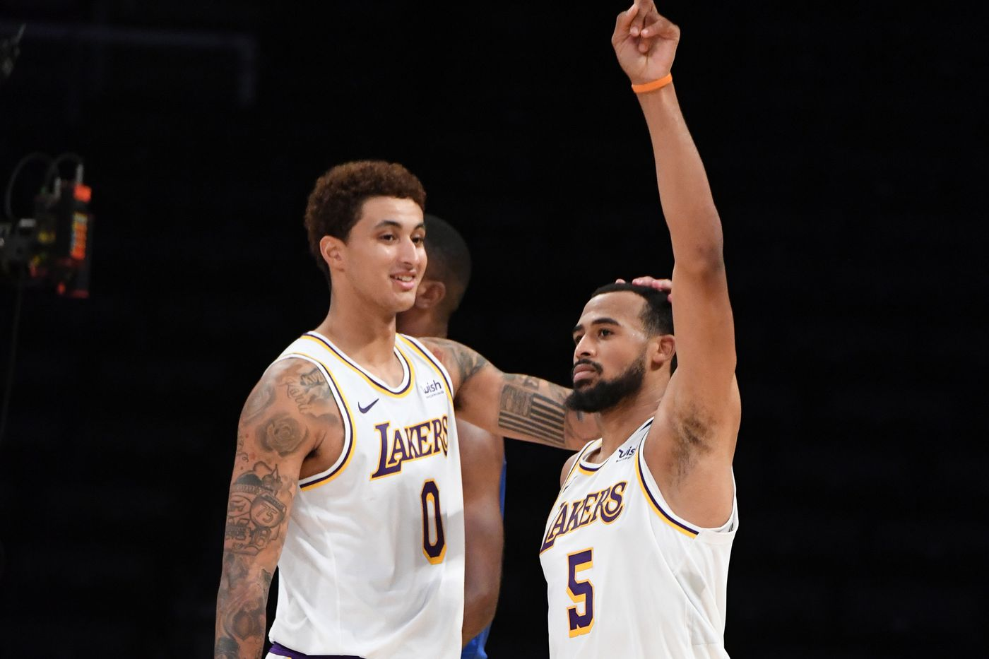 Kyle Kuzma and Talen-Horton Tucker