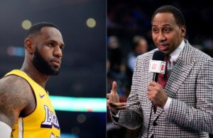 LeBron James and Stephen A. Smith