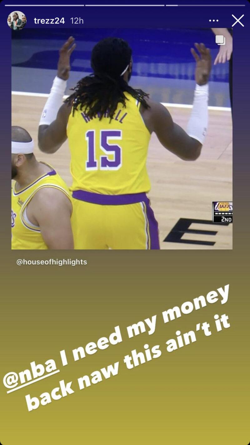 Montrezl Harrell Lakers