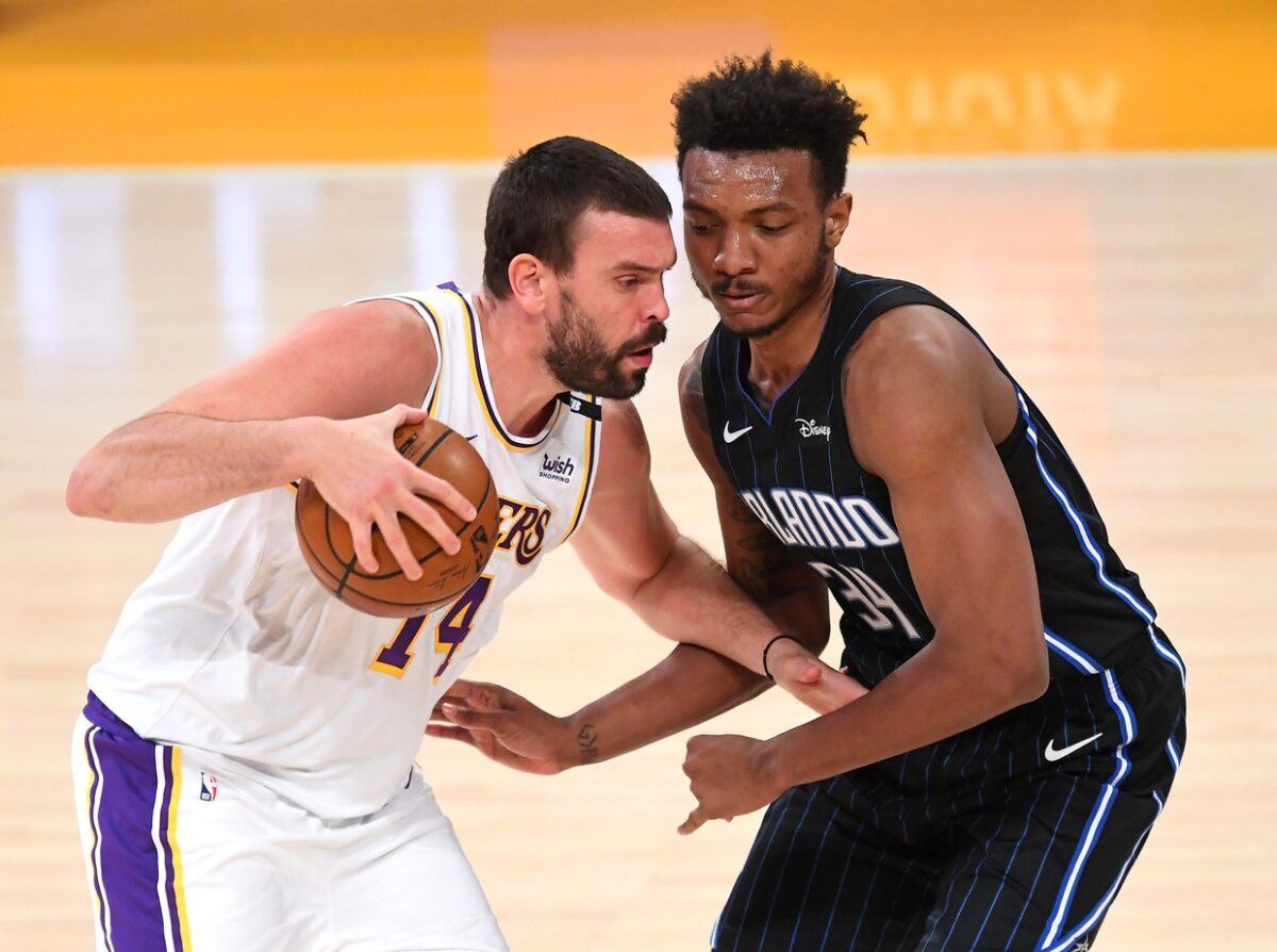 Marc Gasol and Wendell Carter Jr.