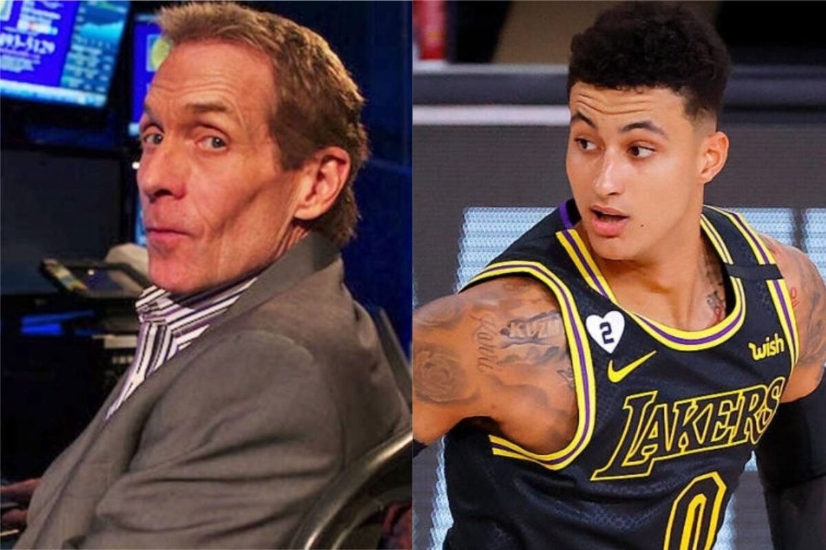 Skip Bayless and Kyle Kuzma