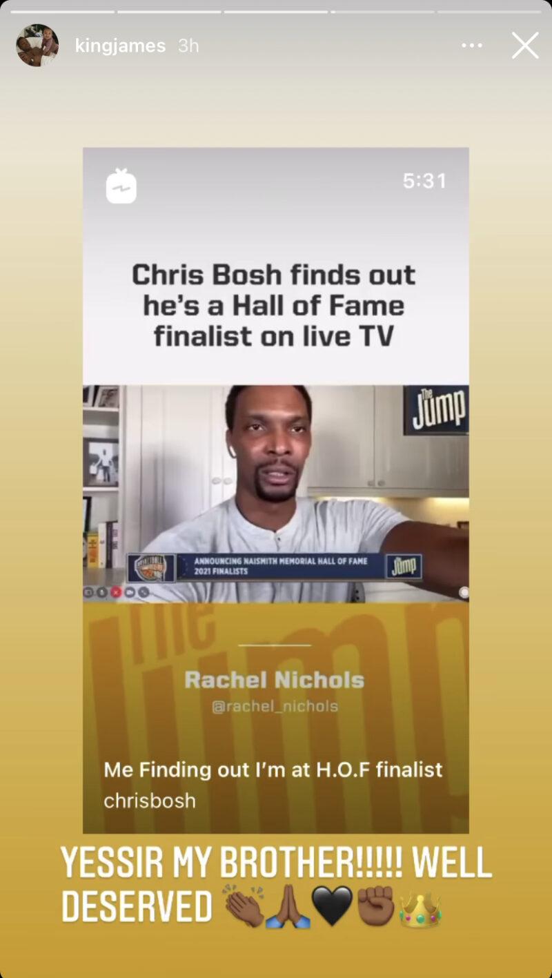 Chris Bosh Hall of Fame