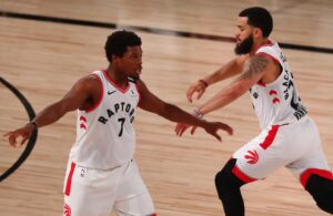 Kyle Lowry and Fred VanVleet