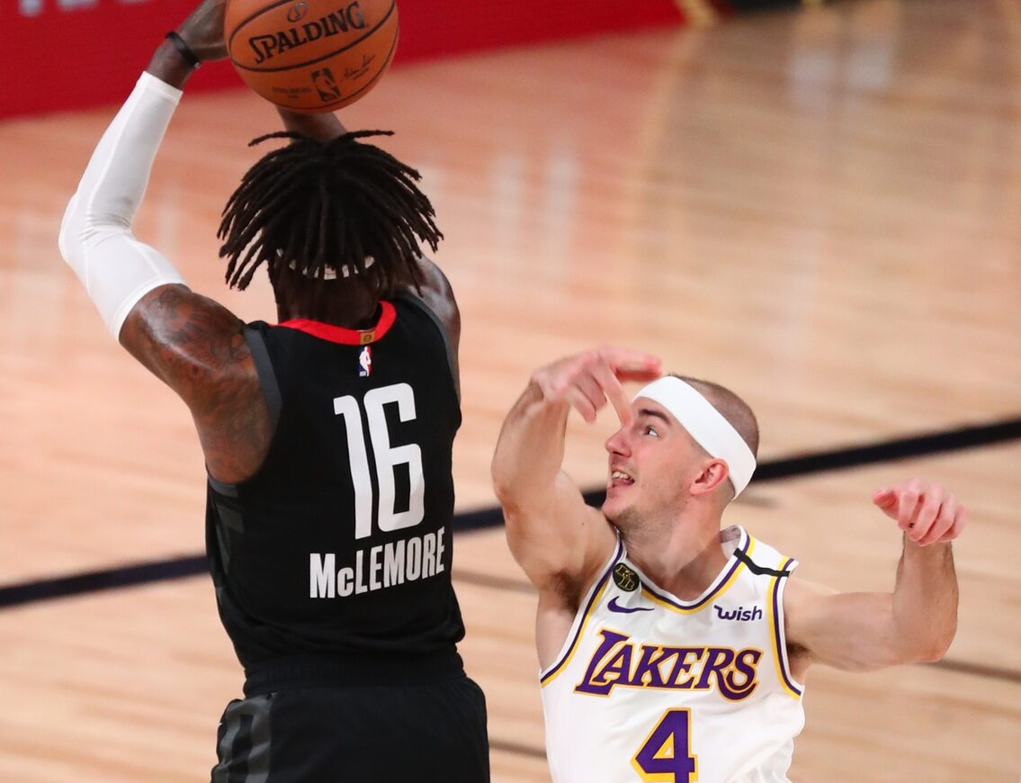 Ben McLemore and Alex Caruso