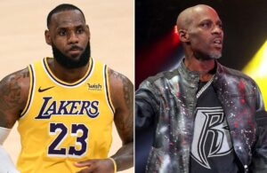 LeBron James and DMX