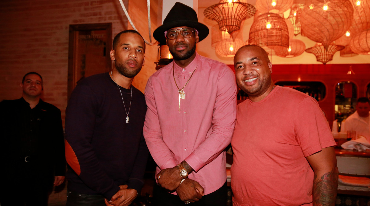 LeBron James House Party