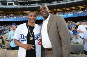 Russell Westbrook and Magic Johnson