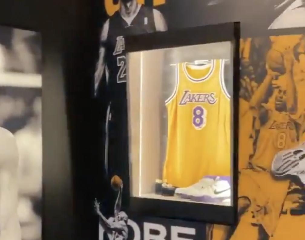 Kobe Bryant Hall of Fame Shrine