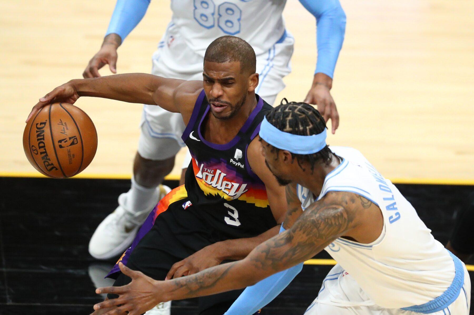 Chris Paul and Lakers