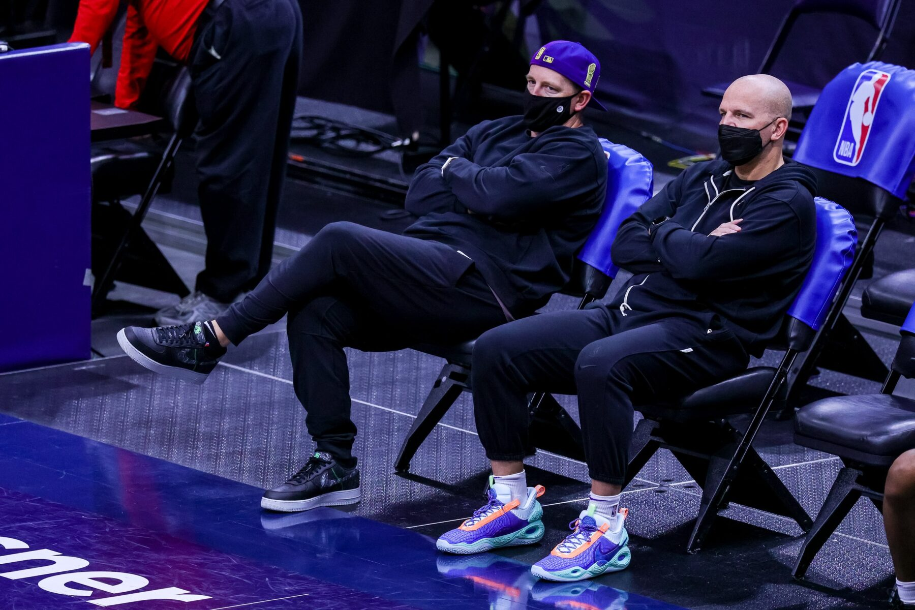 Frank Vogel and Jason Kidd Lakers