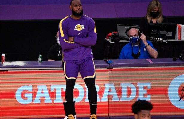NBA claps back at LeBron's heated rant about slew of injuries due to rushed 2020-21 season