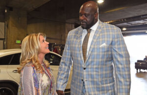 Jeanie Buss and Shaquille O'Neal