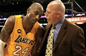 Gary Vitti and Kobe Bryant