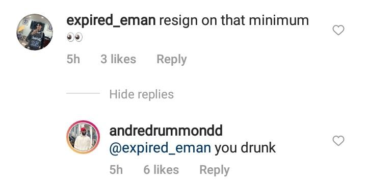 Andre Drummond Instagram