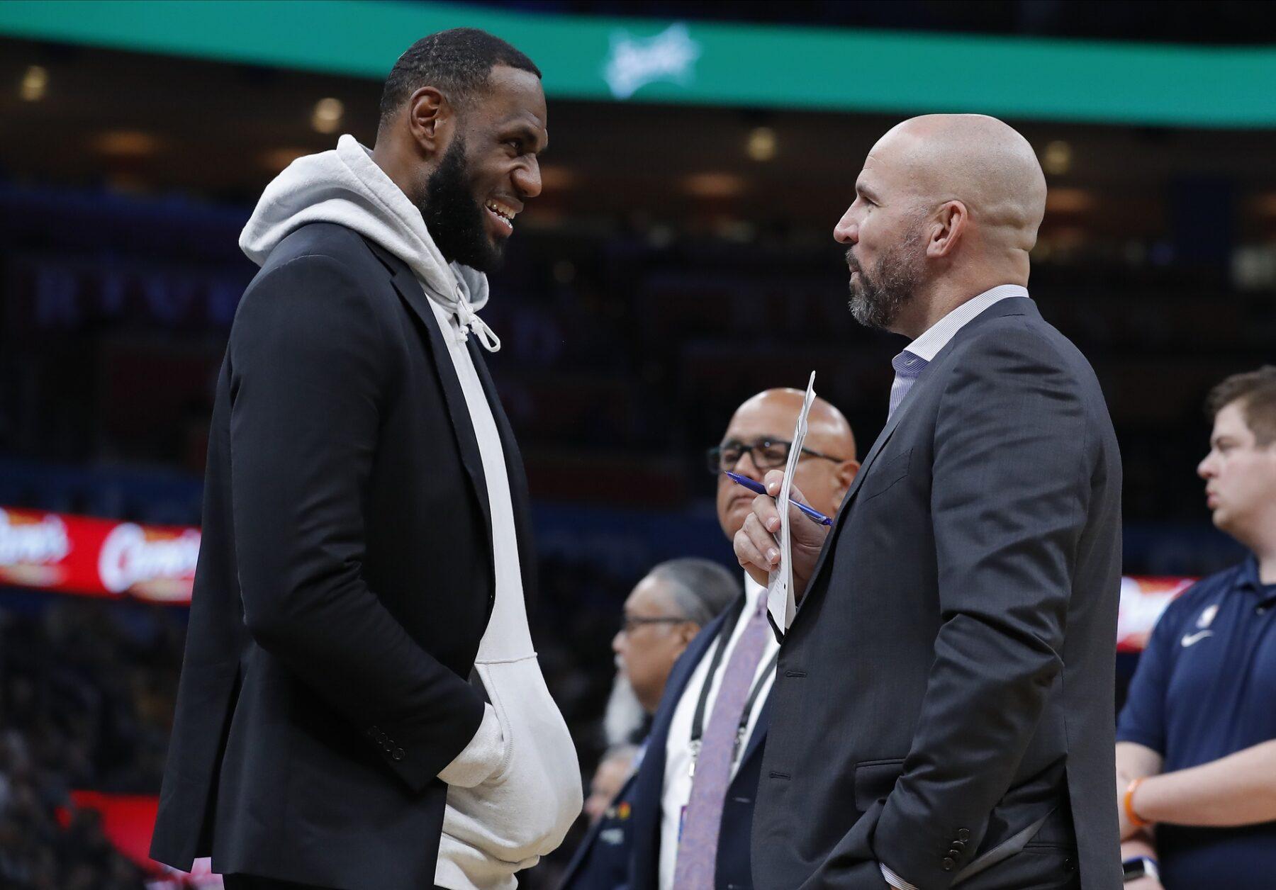 LeBron James and Jason Kidd