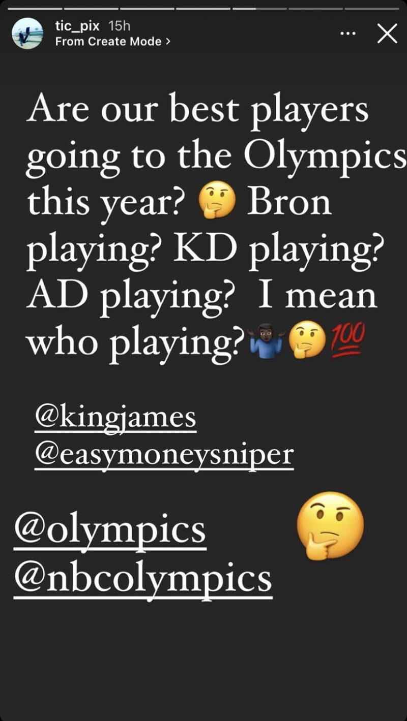 LeBron James, Anthony Davis and Kevin Garnett