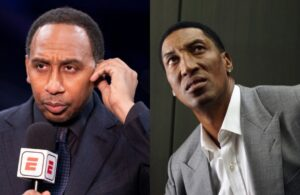 Stephen A. Smith and Scottie Pippen