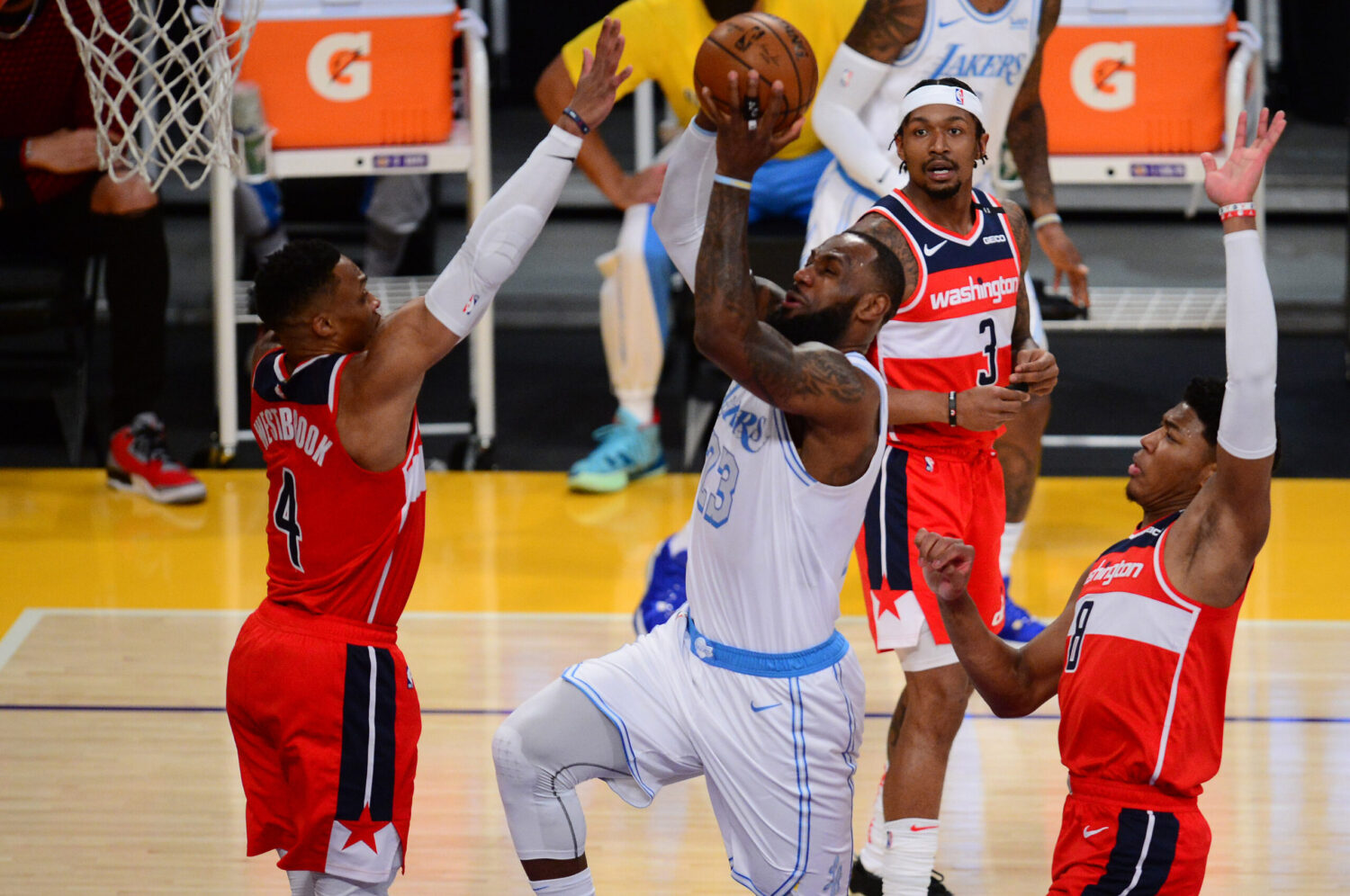 LeBron James Russell Westbrook