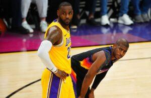LeBron James and Chris Paul