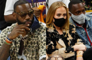 LeBron James, Rich Paul and Adele